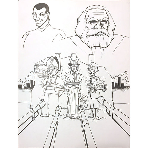 Action Philosophers #4 cover art