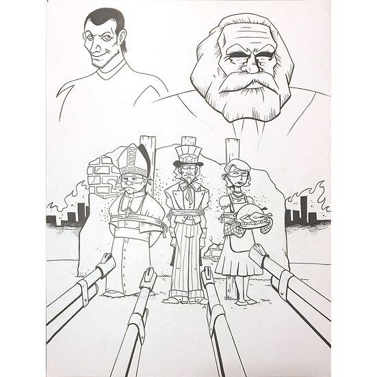 Action Philosophers #4 cover art