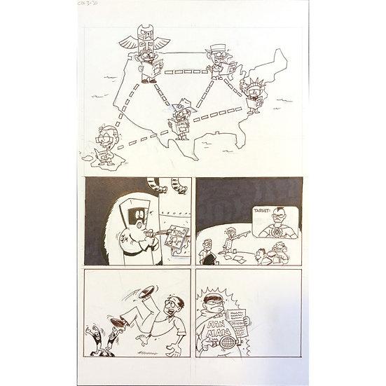 Comic Book History of Comics page 108