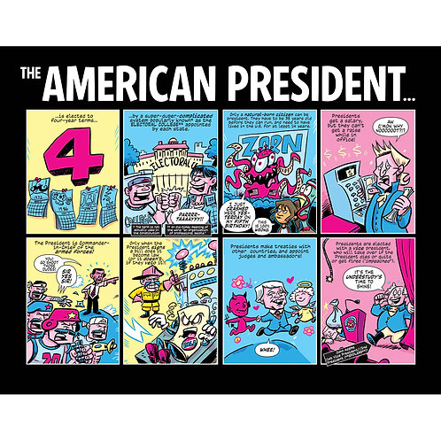 Action Presidents prints