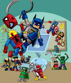 Minimates Toy Fight