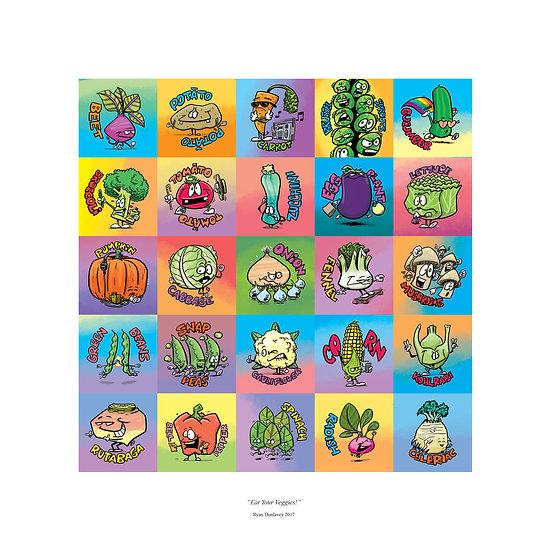 Eat Your Veggies print