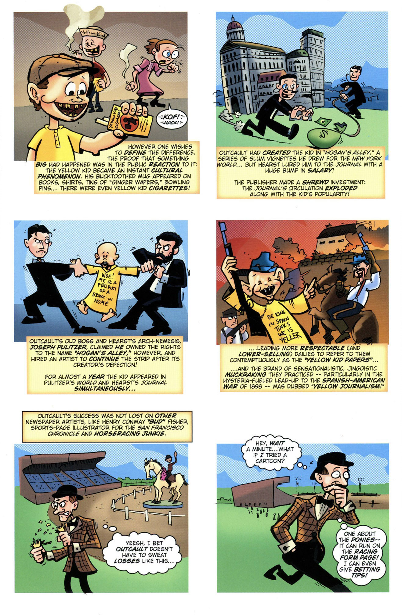 Comic Book History of Comics v1