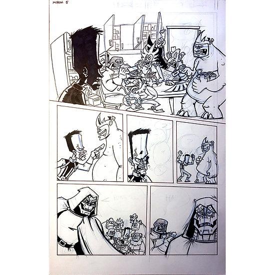 Fall of the Hulks: MODOK page5