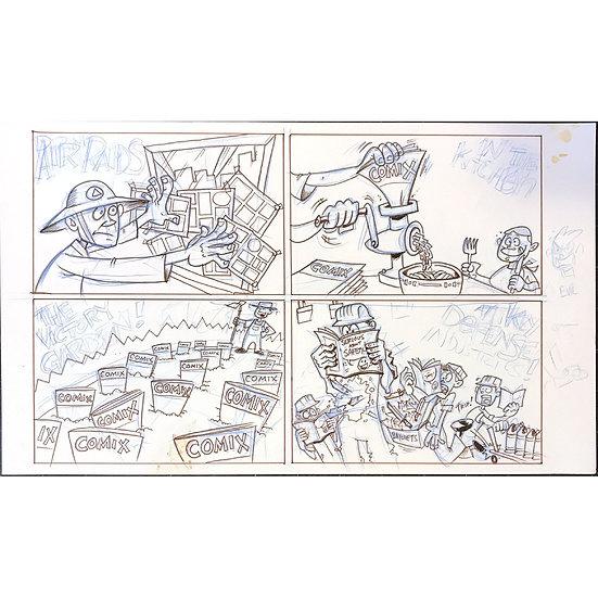 Comic Book Comics #2 back cover