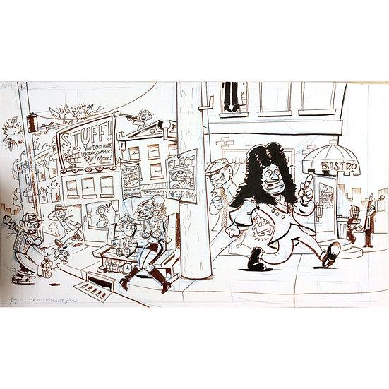 Action Philosophers Leibniz art