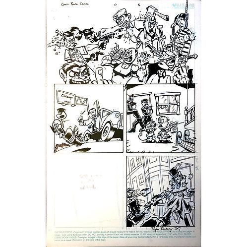 Comic Book History of Comics page 74