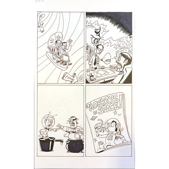 Comic Book History of Comics page 105