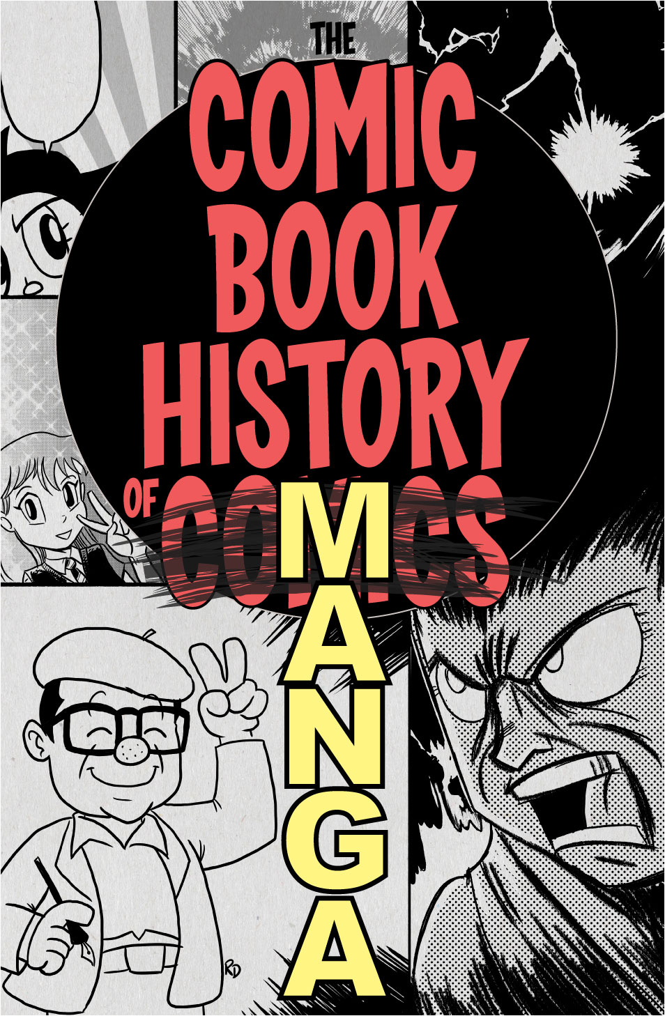 Comic Book History of Manga cover