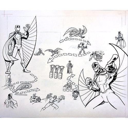 Marvel's Stingray artwork