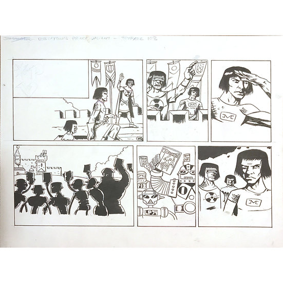 ToyFare Sunday Funnies - Prince Valiant / Valiant Comics