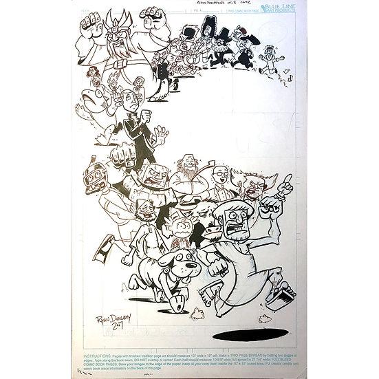 Action Philosophers volume 3 cover art