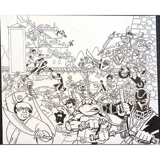 Know Your Ninjas artwork