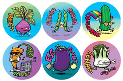 Dirt Candy stickers
