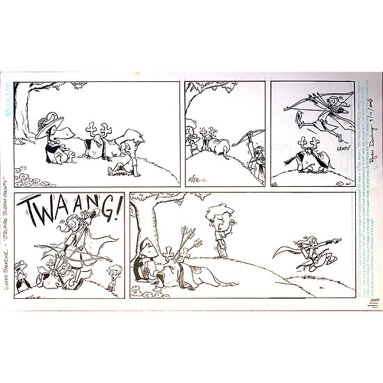 ToyFare Sunday Funnies - Bloom County / Lord of the Rings