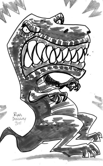 Devil Dinosaur again!
