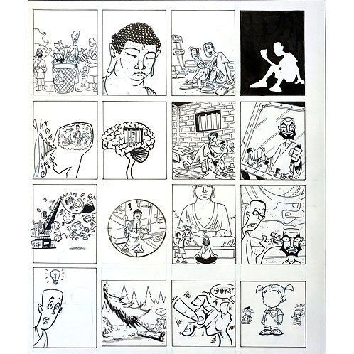 Action Philosophers pages 74-77 art