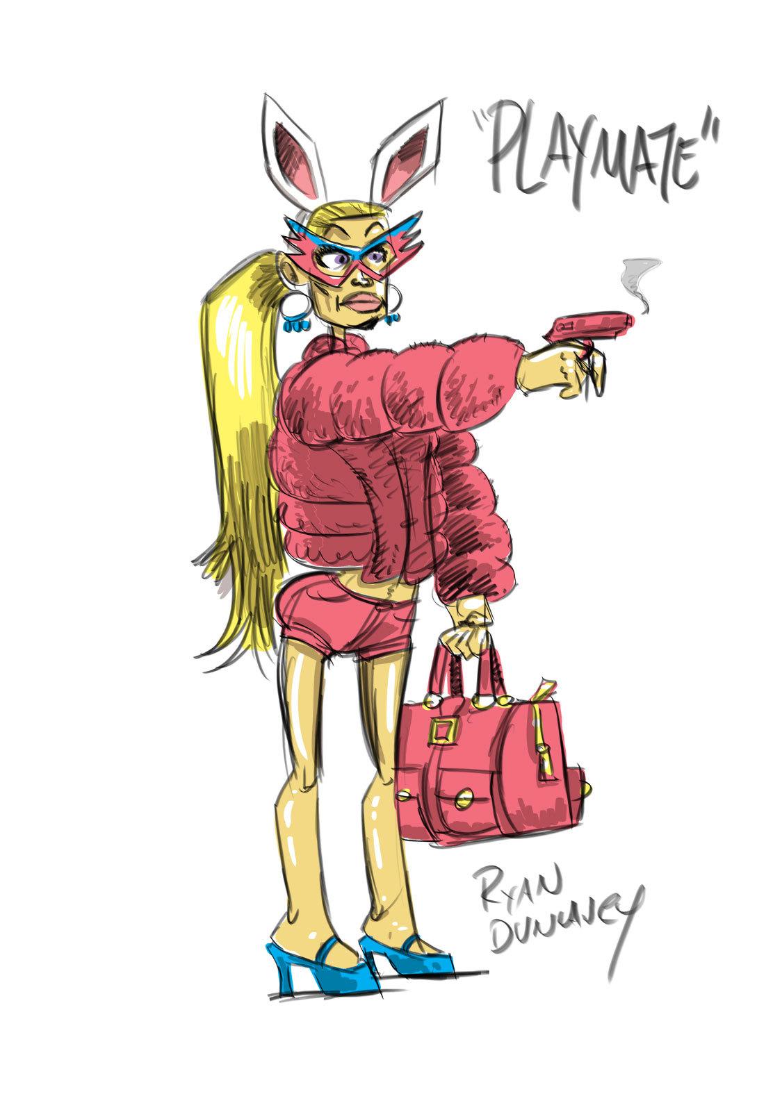 Playmate - Bad Guy villain