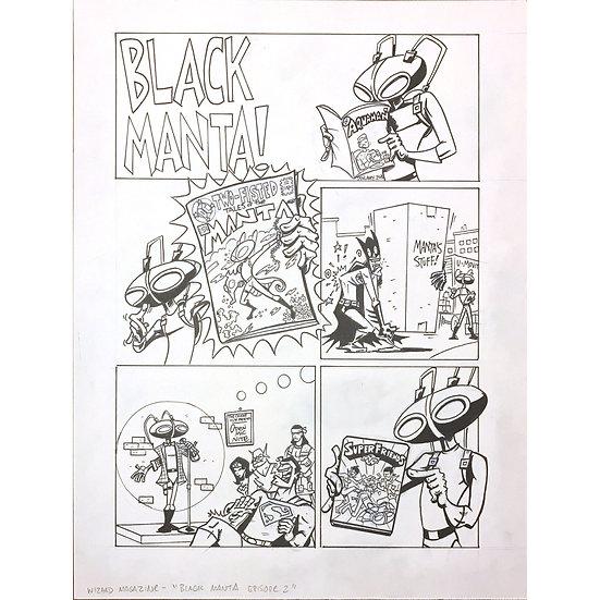 Wizard - Black Manta comic #2