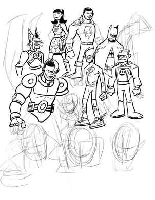 Unfinished Justice League
