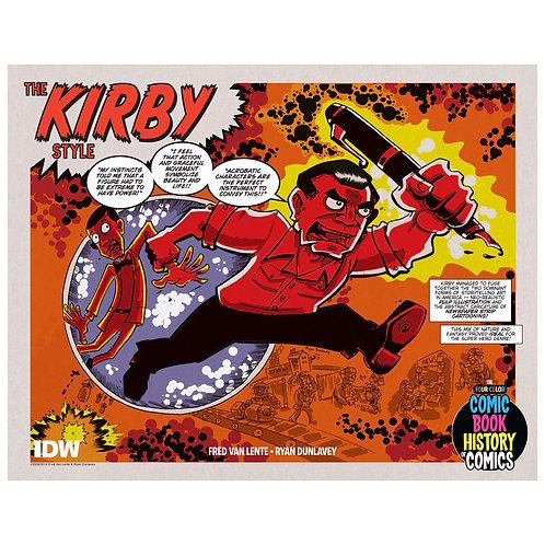 Comic Book History of Comics - The Kirby Style print