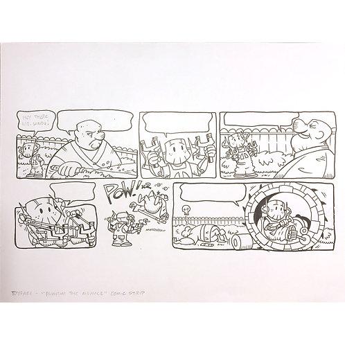 ToyFare Sunday Funnies -Phantom Menace / Dennis the Menace