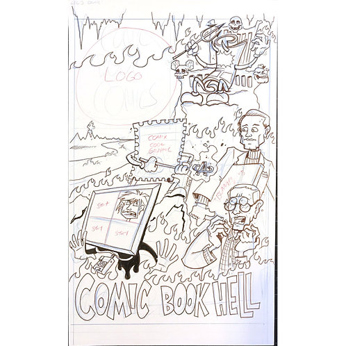 Comic Book Comics #3 cover