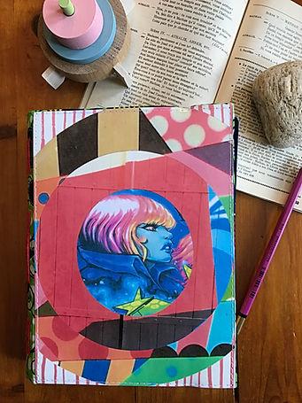 Handmade notebook by DelphineIV