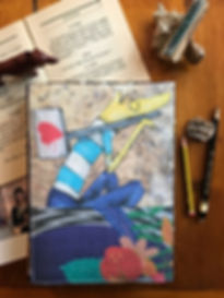 Handmade notebooks by DelphineIV