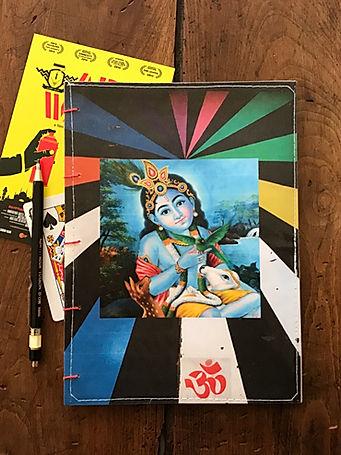 Handmade notebook for spiritual people