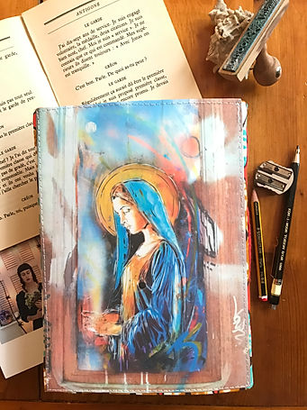 Durable handmade notebook by DelphineIV