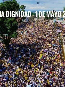 Solidaritätsbekundung zur aktuellen Situation in Kolumbien
