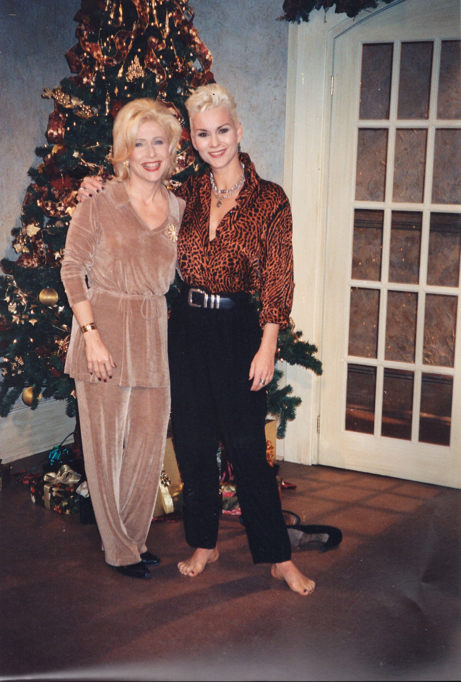 Kellie Olver and Susan Powter