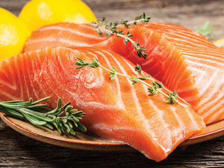 The Salmon are Running - The Benefits of Wild Salmon versus Farm Raised