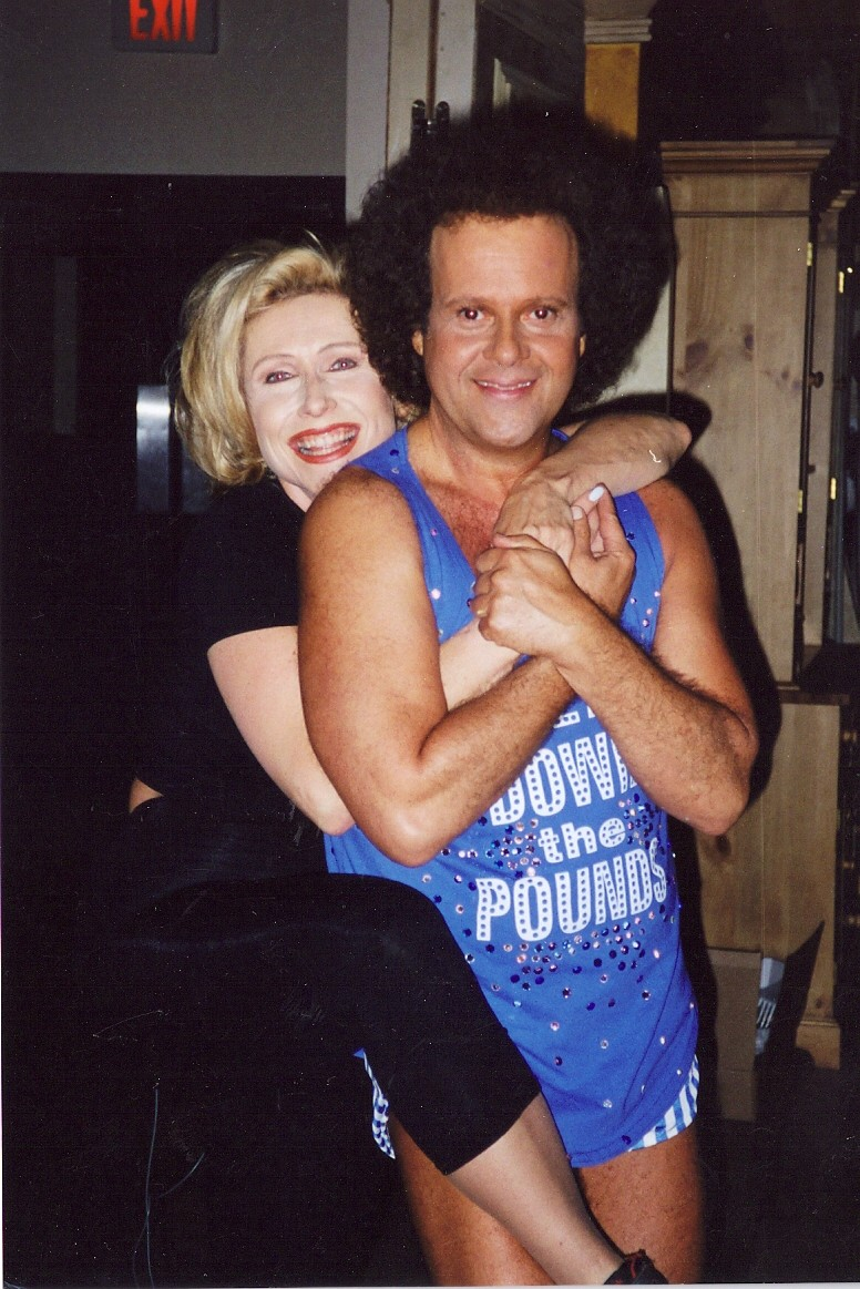 Kellie Olver and Richard Simmons