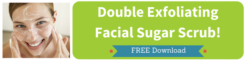 Double Exfoliating Facial Sugar Scrub by Kellie Olver