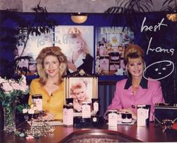 Kellie Olver and Ivana Trump