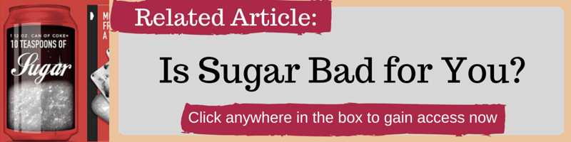 Is Sugar Bad for You by Kellie Olver