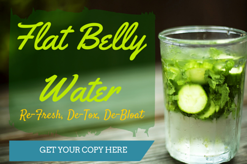 Flat Belly Water - Kellie Olver