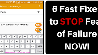 How to Conquer Fear:  6 Fast Fixes That Work*