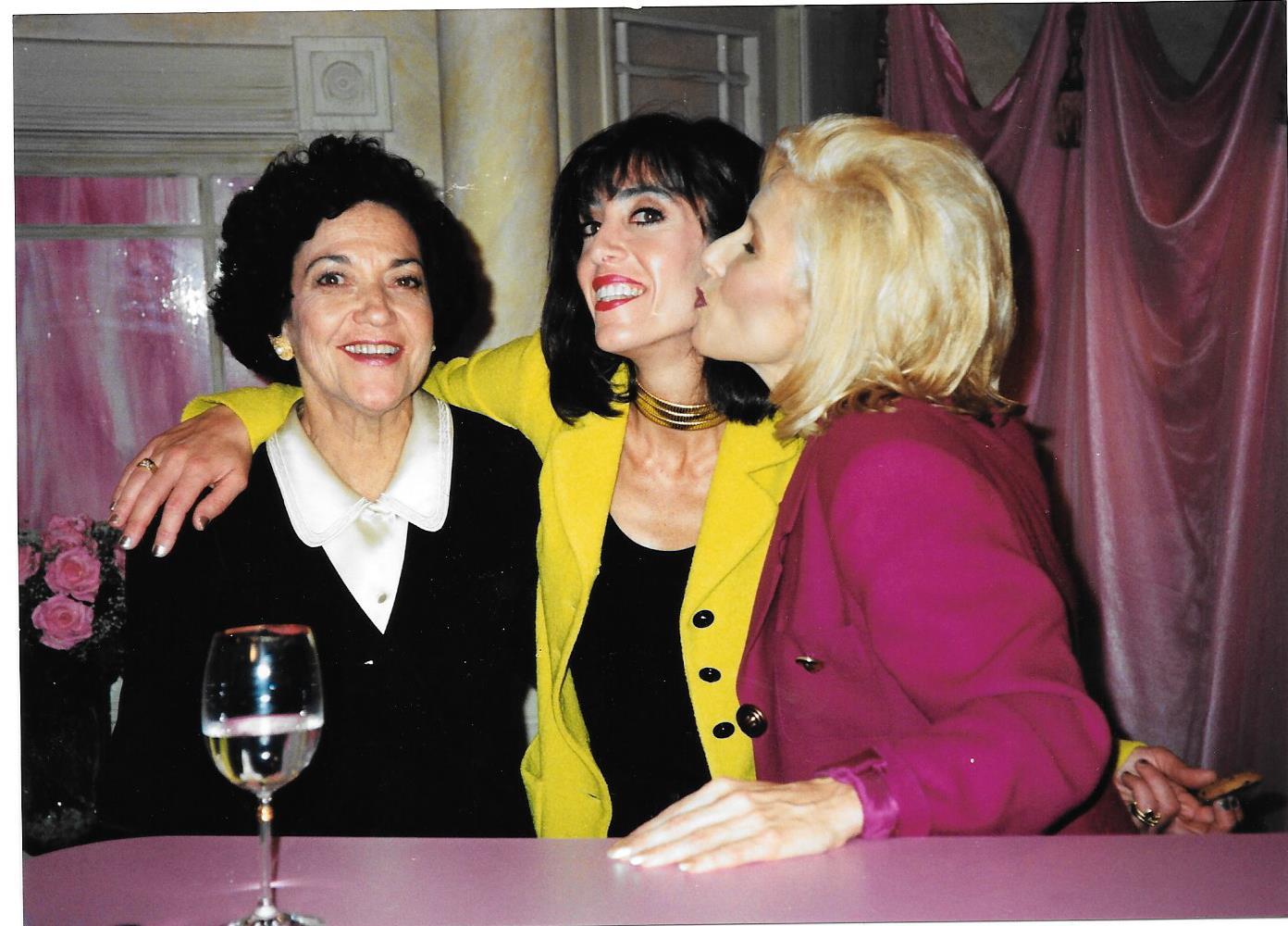 Lucy, Lauren Arpel and Kellie Olver