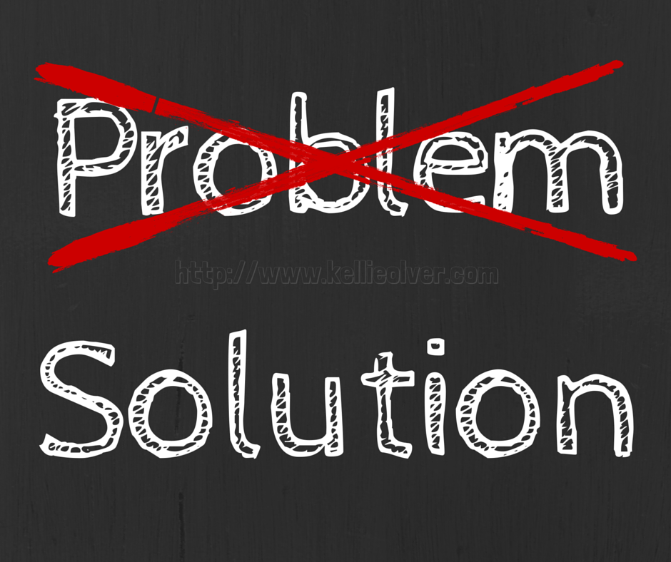 Don't focus on problems