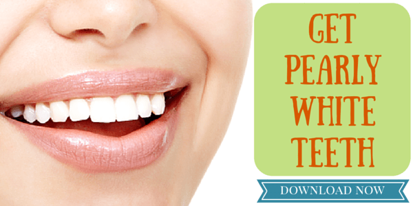 Free!  Kellie's  Recipe for WHITE teeth!