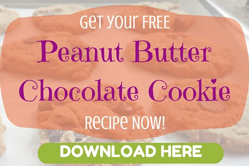 FREE Flourless Peanut Butter Chocolate Chip Cookie Recipe