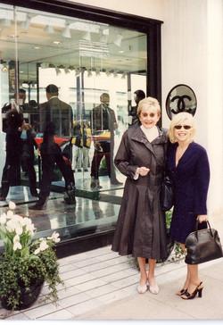 Marilyn Miglin and Kellie Olver