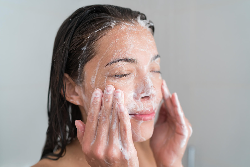 Cleanse and exfoliate