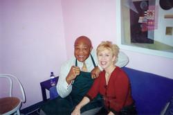 George Foreman and Kellie Olver
