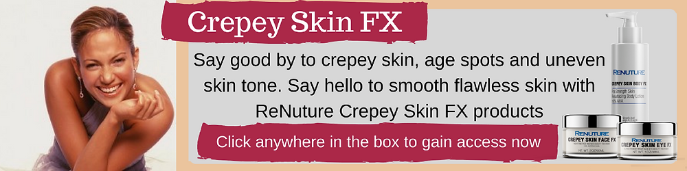 Crepey Skin FX for the Eyes, Face and Body
