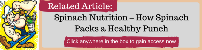 Spinach Nutrition – How Spinach Packs a Healthy Punch by Kellie Olver