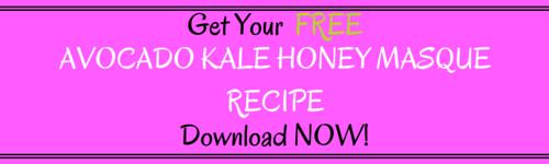 Free Avodado Kale Honey Masque
